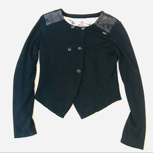 I AM NONO black jacket      Size 15/16 juniors